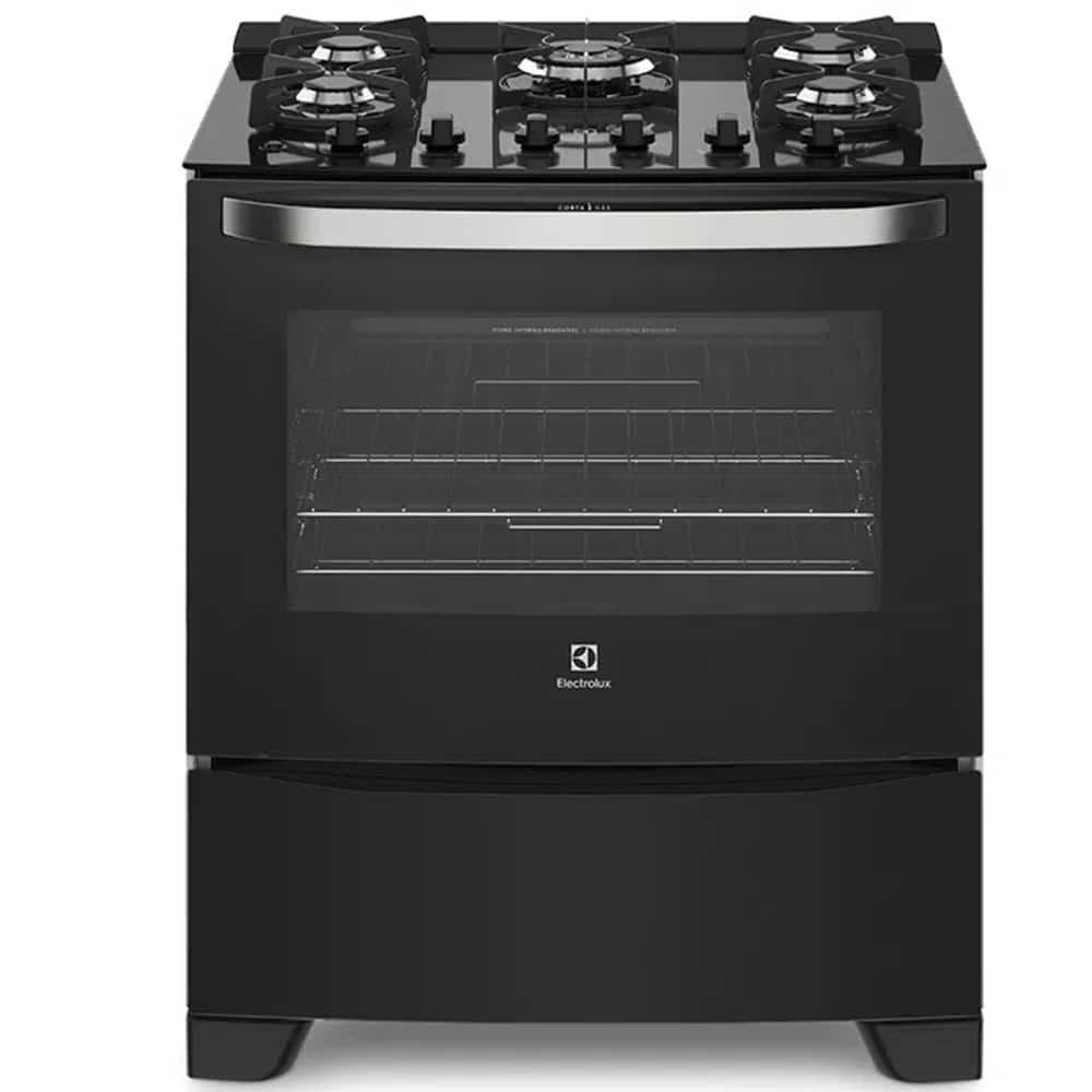 Cocina electrolux 76 GS negra