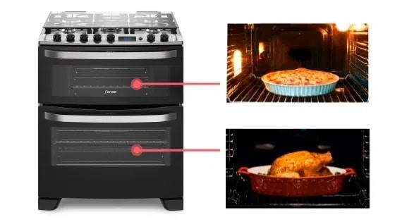 cocina-76 DBR-doble-horno